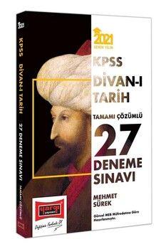 Yargı Yayınları 2021 KPSS Divanı Tarih Tamamı Çözümlü 27 Deneme Sınavı