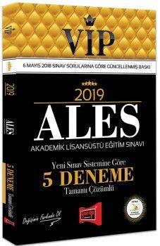 Yargı Yayınları 2019 ALES VIP Yeni Sınav Sistemine Göre Tamamı Çözümlü 5 Deneme