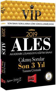 Yargı Yayınları 2019 ALES VİP Tamamı Çözümlü Son 3 Yıl Çıkmış Sorular