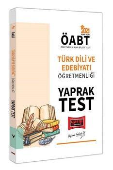 Yargı Yayınları 2021 ÖABT Türk Dili ve Edebiyatı Öğretmenliği Yaprak Test