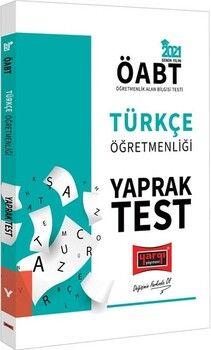 Yargı Yayınları 2021 ÖABT Türkçe Öğretmenliği Yaprak Test