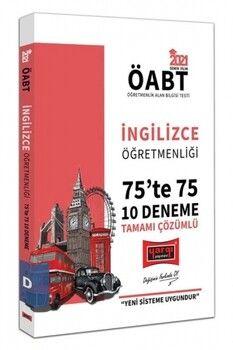 Yargı Yayınları 2021 ÖABT İngilizce Öğretmenliği 75 te 75 Tamamı Çözümlü 10 Deneme Sınavı