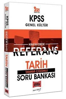 Yargı Yayınları 2021 KPSS Tarih Referans Tamamı Çözümlü Soru Bankası