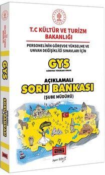 Yargı YayınlarıGYS T.C. Kültür ve Turizm Bakanlığı Şube Müdürü İçin Açıklamalı Soru Bankası