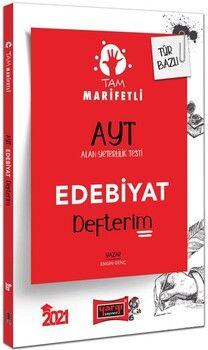 Yargı Yayınları 2021 AYT Edebiyat Tam Marifetli Defterim