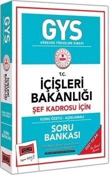 Yargı Yayınları GYS T.C. İçişleri Bakanlığı Şef Kadrosu İçin Konu Özetli Soru Bankası