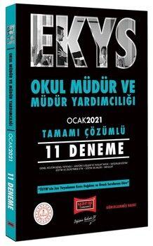 Yargı Yayınları 2021 MEB EKYS Okul Müdür ve Yardımcılığı 11 Deneme