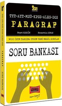 Yargı Yayınları 2021 TYT AYT MSÜ KPSS ALES DGS Paragraf Yeni Nesil Soru Bankası