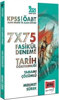 Yargı Yayınları 2021 ÖABT Tarih Öğretmenliği Tamamı Çözümlü 7x75 Fasikül Deneme