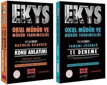 Yargı Yayınları MEB EKYS Okul Müdür ve Yardımcılığı Konu Anlatımlı + 11 Deneme Seti