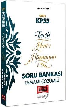 Yargı Yayınları 2021 KPSS Tarih Hatt-ı Hümayun Tamamı Çözümlü Soru Bankası