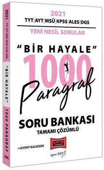Yargı Yayınları 2021 Tüm Sınavlar İçin Paragraf Bir Hayale Çözümlü 1000 Soru Bankası