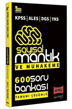 Yargı Yayınları 2021 KPSS ALES DGS YKS Sayısal Mantık ve Muhakeme Tamamı Çözümlü 600 Soru Bankası