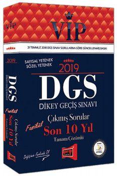 Yargı Yayınları 2019 DGS VİP Sayısal Sözel Yetenek Son 10 Yıl Tamamı Çözümlü Fasikül Çıkmış Sorular