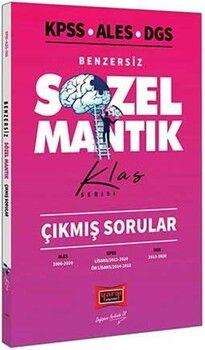 Yargı Yayınları KPSS ALES DGS Benzersiz Sözel Mantık Çıkmış Sorular Klas Serisi