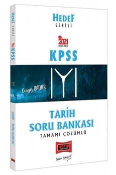 Yargı Yayınları 2021 KPSS Tarih Tamamı Çözümlü Soru Bankası Hedef Serisi