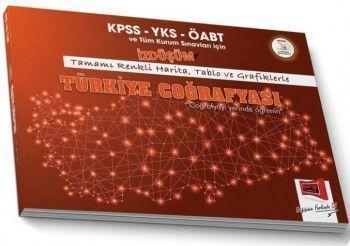 Yargı Yayınları KPSS YKS ÖABT ve Tüm Kurum Sınavları İçin İZDÜŞÜM Türkiye Coğrafyası