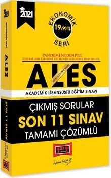 Yargı Yayınları2021 ALES Son 11 Sınav Tamamı Çözümlü Çıkmış Sorular Ekonomik Seri