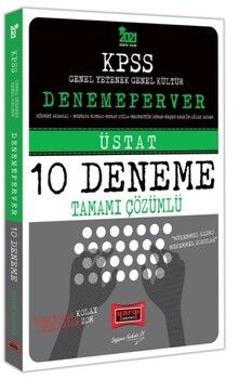 Yargı Yayınları 2021 KPSS GY GK Denemeperver Tamamı Çözümlü 10 Deneme