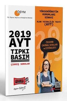 Yargı Yayınları 2019 AYT Tıpkı Basım Çıkmış Sorular