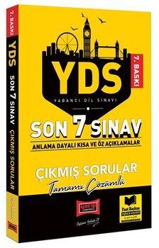 Yargı Yayınları YDS Son 7 Sınav Tamamı Çözümlü Çıkmış Sorular