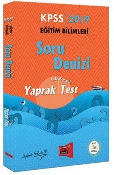 Yargı Yayınları 2019 KPSS Eğitim Bilimleri Soru Denizi Çek Kopartlı Yaprak Test
