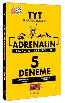 Yargı Yayınları 2021 TYT Adrenalin 5 Deneme Sınavı