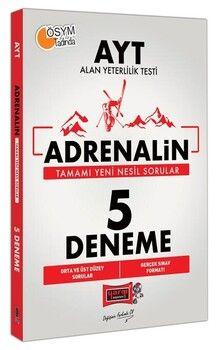 Yargı Yayınları 2021 AYT Adrenalin 5 Deneme Sınavı