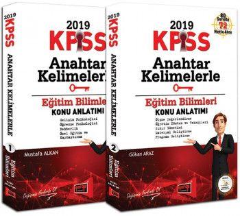 Yargı Yayınları 2019 KPSS Eğitim Bilimleri Anahtar Kelimelerle Konu Anlatımı 2 Kitap