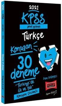Yargı Yayınları2021 KPSS Genel Yetenek Türkçe Konuşan 30 Deneme