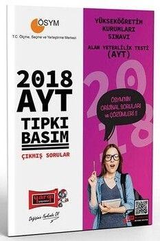 Yargı Yayınları AYT 2018 Tıpkı Basım Çıkmış Sorular