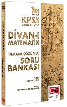 Yargı Yayınları 2021 KPSS GY Divanı Matematik Tamamı Çözümlü Soru Bankası