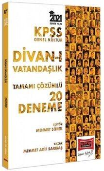 Yargı Yayınları 2021 KPSS GK Divanı Vatandaşlık Tamamı Çözümlü 20 Deneme