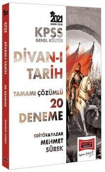 Yargı Yayınları 2021 KPSS GK Divanı Tarih Tamamı Çözümlü 20 Deneme