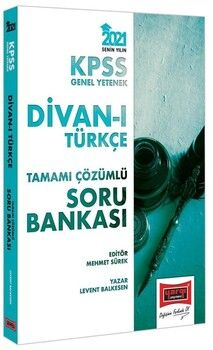 Yargı Yayınları 2021 KPSS GY Divanı Türkçe Tamamı Çözümlü Soru Bankası