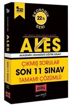 Yargı Yayınları 2022 ALES Ekonomik Seri Tamamı Çözümlü Çıkmış Sorular Son 11 Sınav