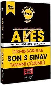 Yargı Yayınları 2022 ALES Ekonomik Seri Tamamı Çözümlü Çıkmış Sorular Son 3 Sınav