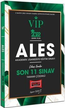 Yargı Yayınları 2022 ALES VIP Tamamı Çözümlü Son 11 Sınav Çıkmış Sorular