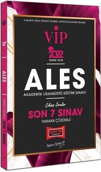 Yargı Yayınları 2022 ALES VIP Tamamı Çözümlü Son 7 Sınav Çıkmış Sorular