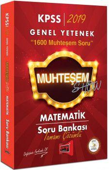 Yargı Yayınları 2019 KPSS Muhteşem Show Matematik Tamamı Çözümlü Soru Bankası