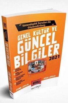 Yargı Yayınları 2021 KPSS Vatandaşlık Soruları ile Güçlendirilmiş Genel Kültür ve Güncel Bilgiler