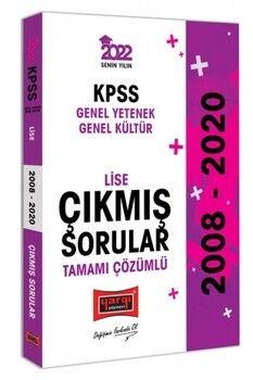 Yargı Yayınları 2022 KPSS GY GK Lise Tamamı Çözümlü Çıkmış Sorular