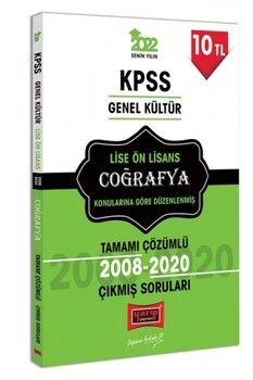 Yargı Yayınları 2022 KPSS GK Lise Ön Lisans Coğrafya Tamamı Çözümlü Çıkmış Sorular