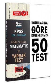 Yargı Yayınları 2022 KPSS Lise Ön Lisans GY Matematik Yaprak Test