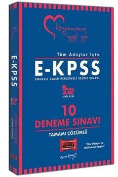 Yargı Yayınları 2022 Tüm Adaylar İçin EKPSS Tamamı Çözümlü 10 Deneme Sınavı