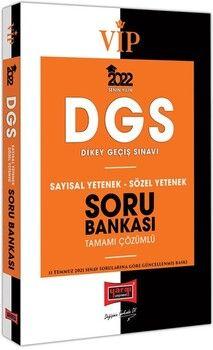 Yargı Yayınları2022 VİP DGS Sayısal Yetenek Sözel Yetenek Tamamı Çözümlü Soru Bankası