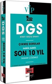 Yargı Yayınları 2022 DGS Fasikül Fasikül Tamamı Çözümlü Son 10 Yıl Çıkmış Sorular