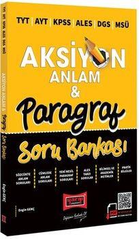 Yargı Yayınları 2022 TYT AYT KPSS ALES DGS MSÜ Aksiyon Anlamve Paragraf Soru Bankası