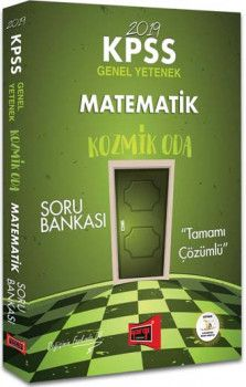 Yargı Yayınları 2019 KPSS Kozmik Oda Matematik Tamamı Çözümlü Soru Bankası