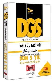 Yargı Yayınları 2022 DGS Sayısal Yetenek Sözel Yetenek Fasikül Fasikül Son 5 Yıl Tamamı Çözümlü Çıkmış Sorular